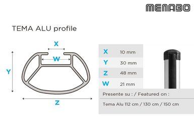 - 5 Portes Barres de Toit Aluminium pour Chevrolet Aveo /à partir de 2011 T300
